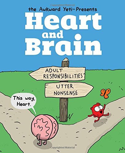 The Awkward Yeti Heart And Brain An Awkward Yeti Collection
