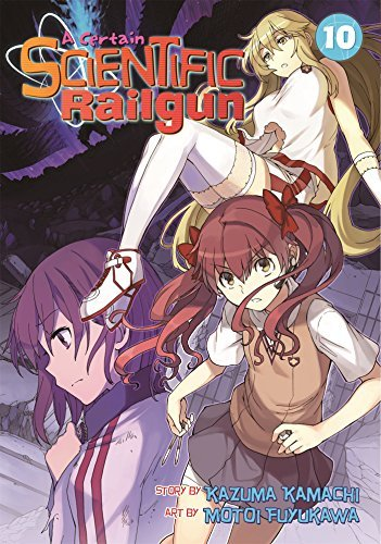 Kazuma Kamachi A Certain Scientific Railgun Vol. 10