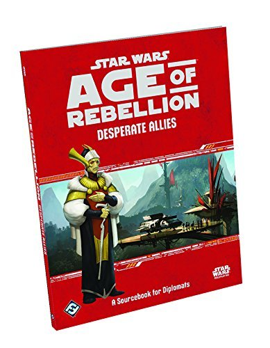 Fantasy Flight Games Star Wars Age Of Rebellion Desperate Allies Rpg Supplement