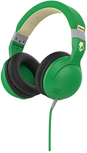 Skull Candy Hesh 2 Micd Ill Famed Green Cream Mic 1
