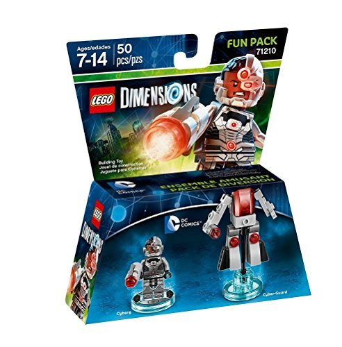 Lego Dimensions Fun Pack Cyborg (dc Comics)