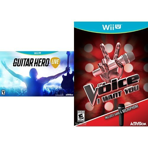 Wii U Guitar Hero Live Bundle