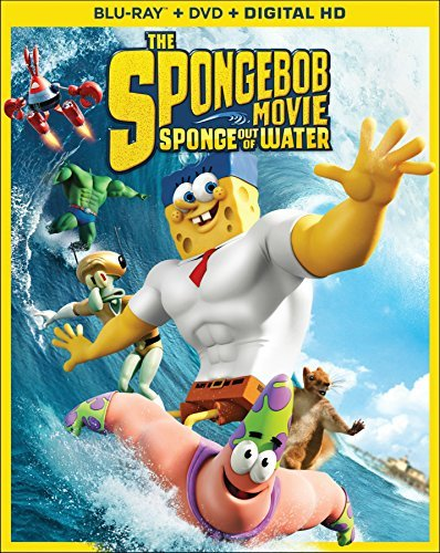 Spongebob Movie Sponge Out Of Water Spongebob Movie Sponge Out Of Water Blu Ray DVD Dc Pg