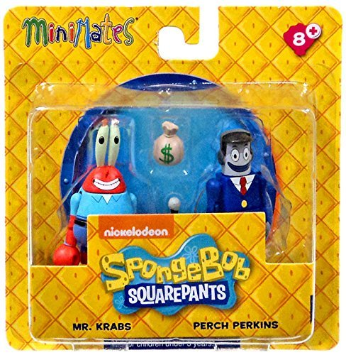 Mini Mates Mr. Krabs & Perch Perkins