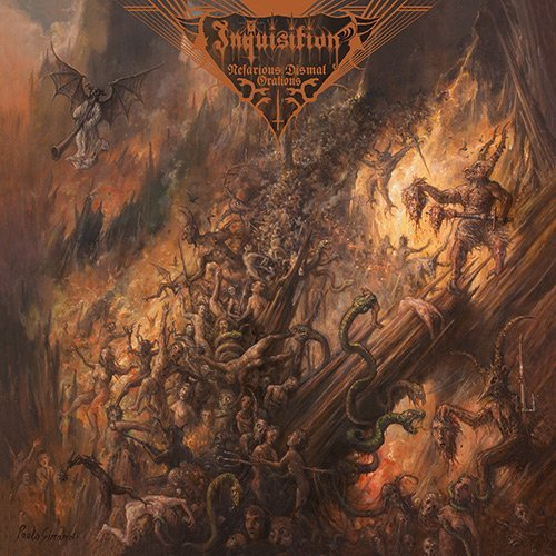 Inquisition Nefarious Dismal Orations 2 Lp