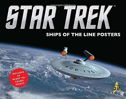 Doug Drexler Star Trek Ships Of The Line Posters