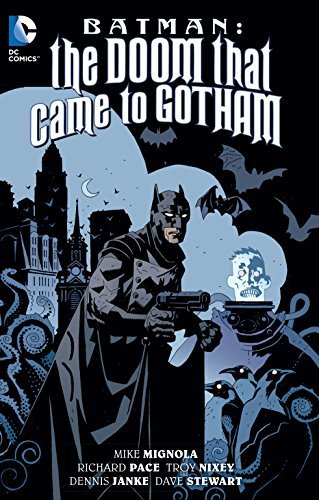 Mike Mignola Batman The Doom That Came To Gotham