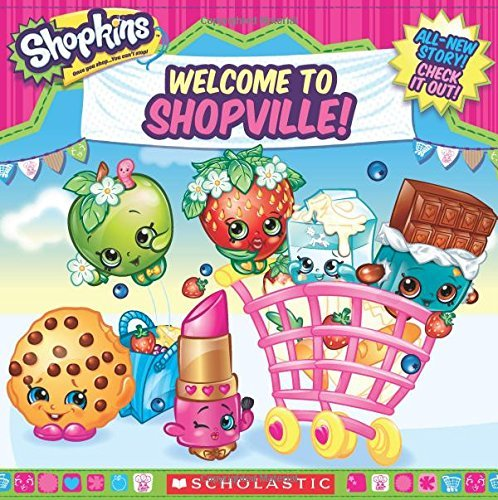 Inc. Scholastic Shopkins Welcome To Shopville