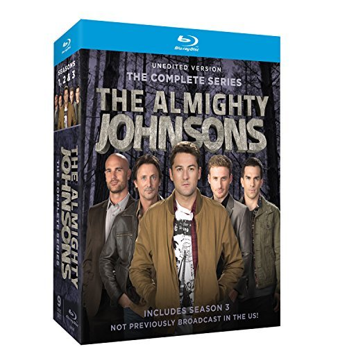 Almighty Johnsons Seasons 1 3 Blu Ray