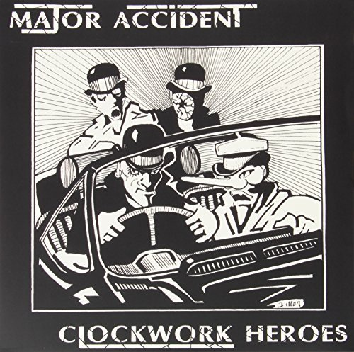 Major Accident Clockwork Heroes The Best Of Import Gbr 2 Lp