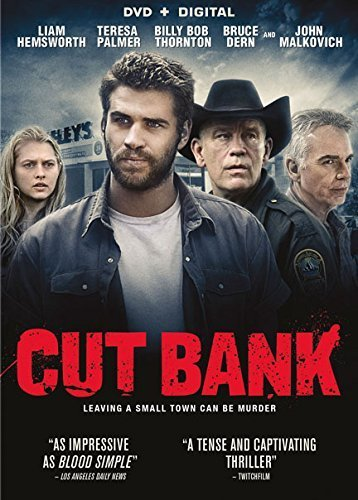 Cut Bank Hemsworth Malkovich Dern Palmer Thornton DVD Dc R