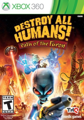 X360 Destroy All Humans! Path Of The Furon Xbox 360 Destroy All Humans! Path Of The Furon