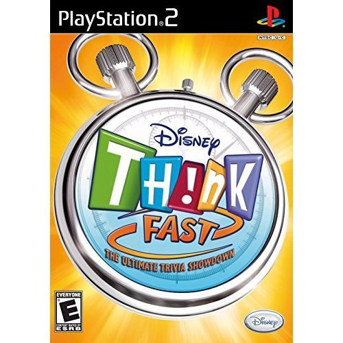 Ps2 Disney Think Fast The Ultimate Trivia Showdown