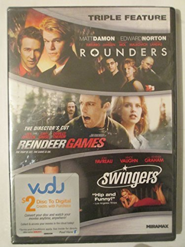 Rounders Reindeer Games Swingers Triple Feature