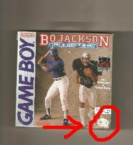Gameboy Bo Jackson Hit And Run