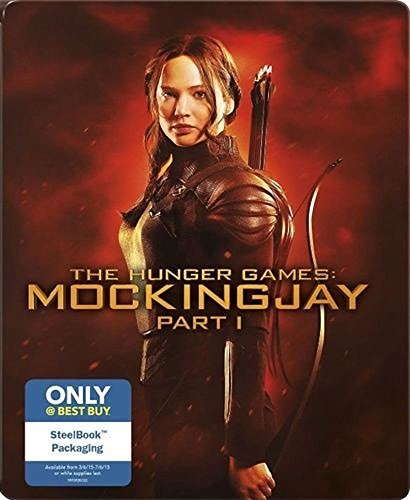 Hunger Games Mockingjay Part 1 Lawrence Hutcherson Hemsworth Steelbook