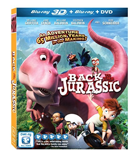 Back To The Jurassic Back To The Jurassic Blu Ray 3d DVD Pg