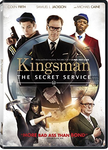 Kingsman Secret Service Firth Jackson Egerton DVD R