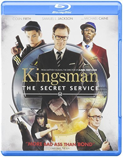 Kingsman Secret Service Kingsman Secret Service Blu Ray Dc