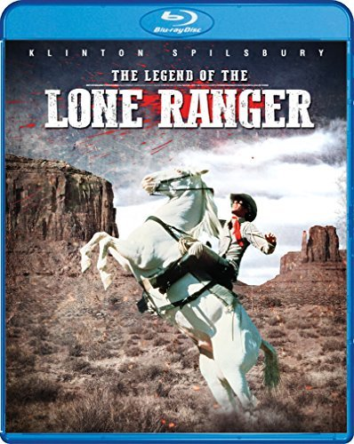 Legend Of The Lone Ranger Spilsbury Horse Lloyd Blu Ray Pg