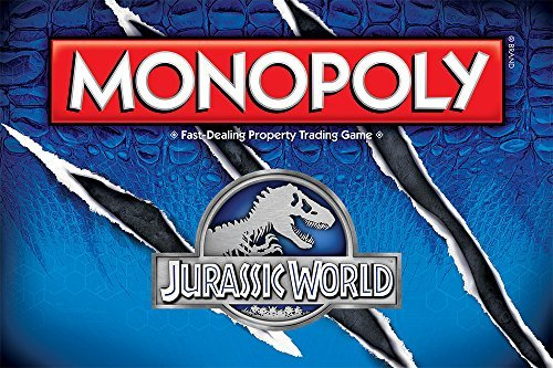 Usaopoly Monopoly Jurassic World Edition