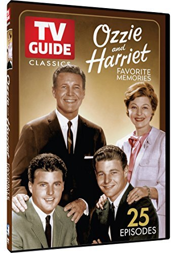 Ozzie & Harriet Tv Guide Classics DVD