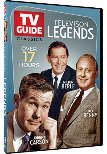 Tv Guide Classics Television Legends Johnny Carson Jack Benny & Milton Berle DVD