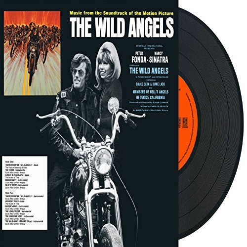 The Wild Angels Soundtrack Vinyl W Digital Download & Insert Flyer