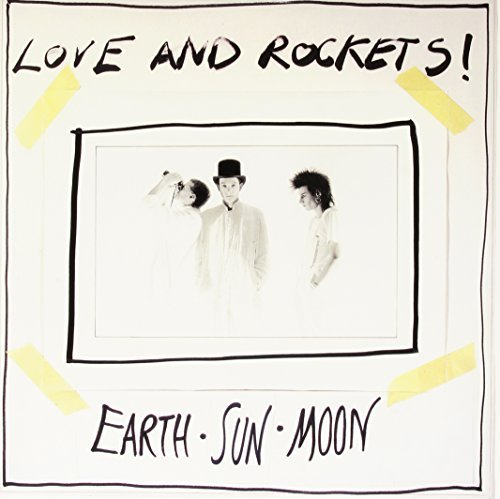Love & Rockets Earth Sun Moon 200 Gram Black Vinyl Limited Foil Numbered