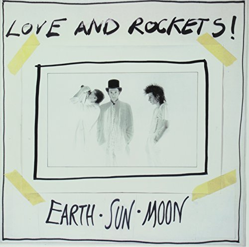 Love & Rockets Earth Sun Moon Light Grey 150 Gram Vinyl Limited Foil Numbered