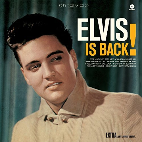 Elvis Presley Elvis Is Back Import Esp