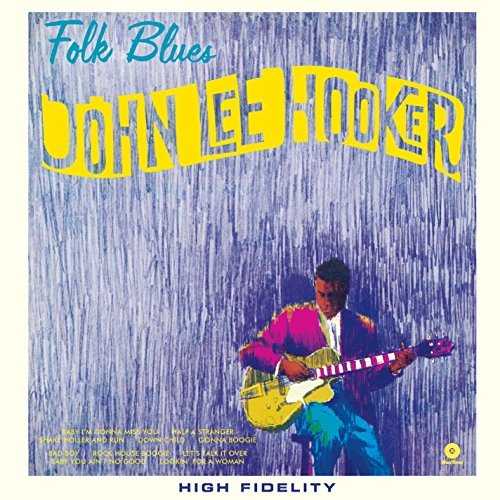 John Lee Hooker Folk Blues Import Esp