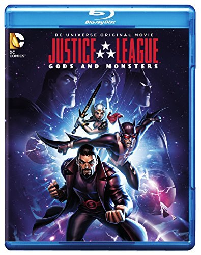 Justice League Gods & Monsters Justice League Gods & Monsters Blu Ray DVD Dc Pg13