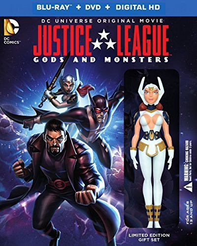 Justice League Gods & Monsters Justice League Gods & Monsters Blu Ray DVD Dc Figurine Pg13