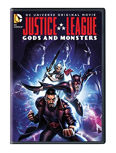 Justice League Gods & Monsters Justice League Gods & Monsters DVD Pg13
