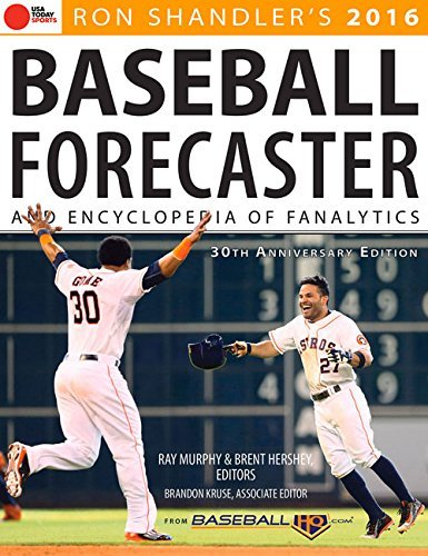 Murphy Ray Dr Ron Shandler's Baseball Forecaster And Encyclopedi 2016