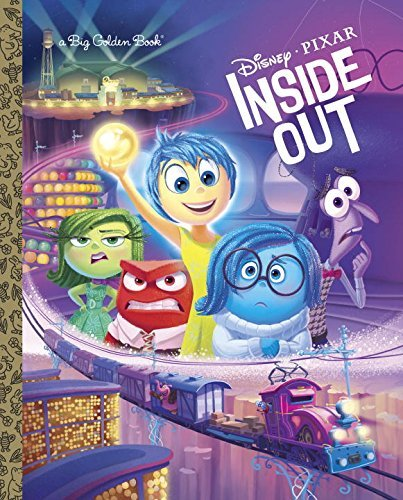 Random House Disney Inside Out Big Golden Book (disney Pixar Inside Ou