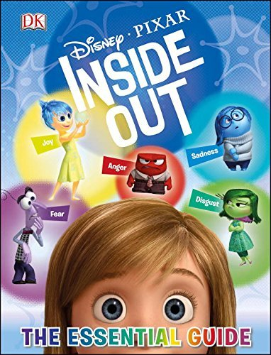 Dk Publishing Disney Pixar Inside Out The Essential Guide