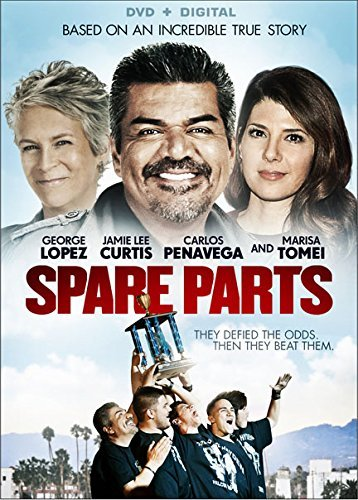Spare Parts Lopez Curtis Tomei DVD Pg13