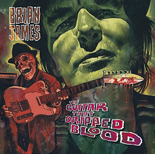Brian James Guitar That Dripped Blood