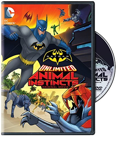 Batman Unlimited Animal Instincts DVD Animal Instincts