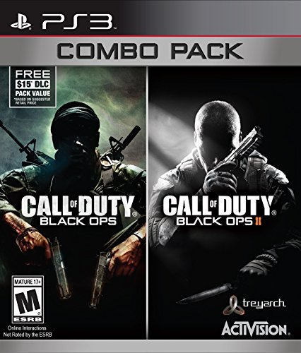 Ps3 Call Of Duty Black Ops 1&2 Com Call Of Duty Black Ops Combo Pack