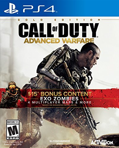 Ps4 Call Of Duty Advanced Warfare Gold Edition