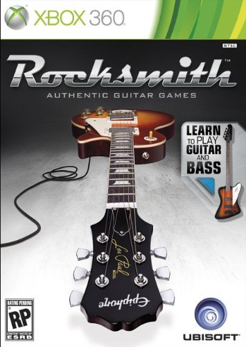 Xbox 360 Rocksmith For Guitar & Bass (game Software Only)