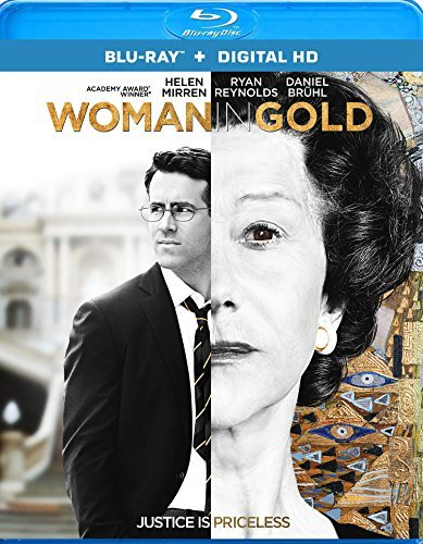 Woman In Gold Mirren Reynolds Bruhl Blu Ray Dc Pg13