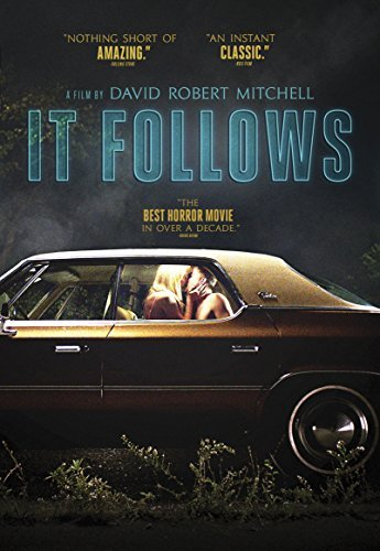 It Follows Monroe Gilchrist Luccardi DVD R