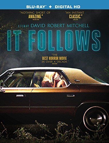 It Follows Monroe Gilchrist Luccardi Blu Ray Dc R