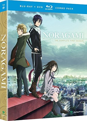 Noragami Season 1 Blu Ray DVD Nr