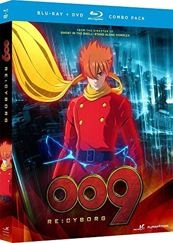 009 Re Cyborg 009 Re Cyborg Blu Ray DVD Nr