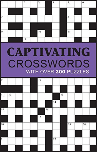 Parragon Books Ltd Captivating Crosswords With Over 300 Puzzles